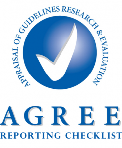 Agree Reporting Checklist logo